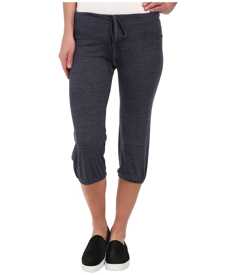 Alternative - Eco-Heather Crop Pant (Eco True Navy) Women's Casual Pants