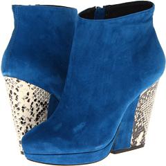 Pour La Victoire Haydn (Dark Teal Suede) Footwear