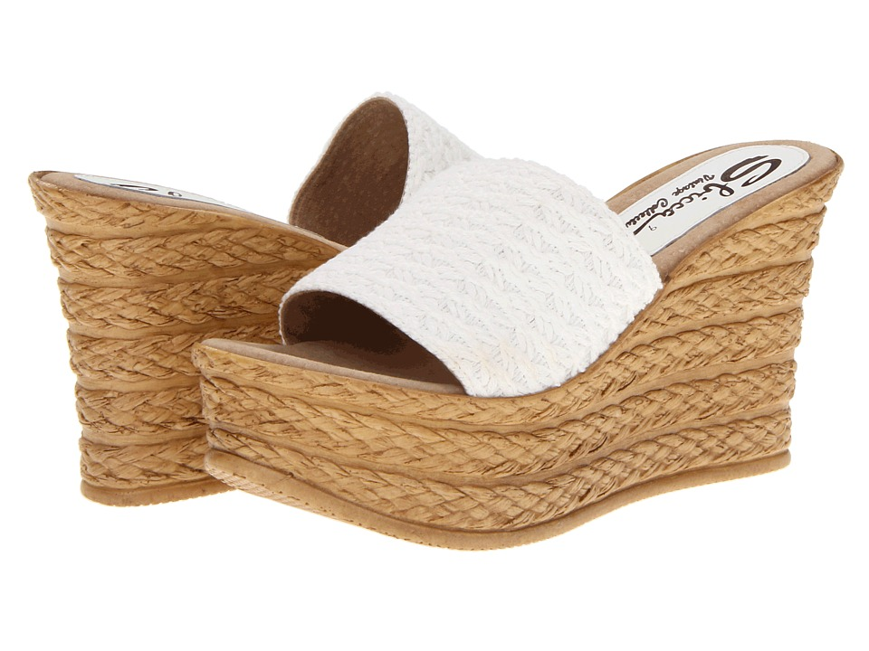 Sbicca - Cabana (White) Women's Sandals