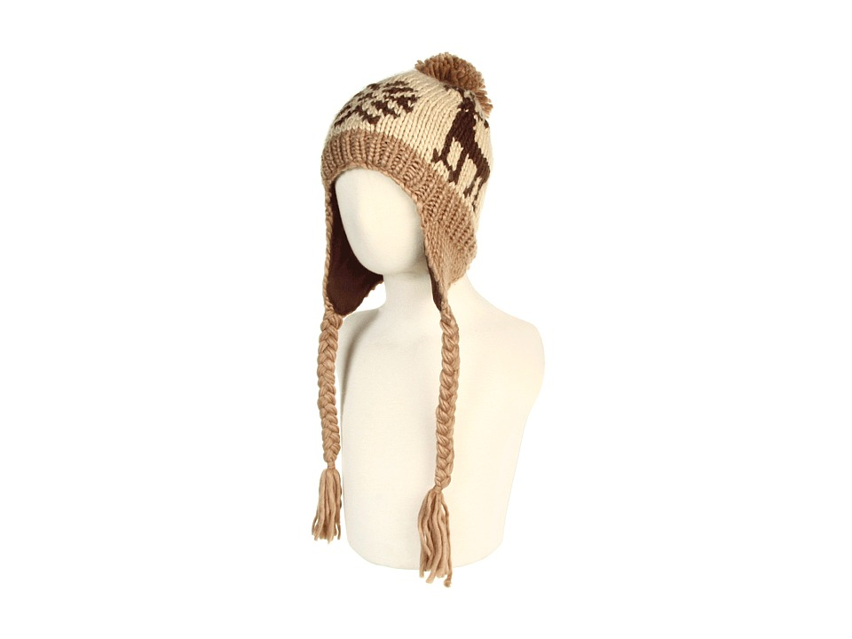 San Diego Hat Company Kids - KNK2992 Reindeer (Toddler) (Brown) Beanies