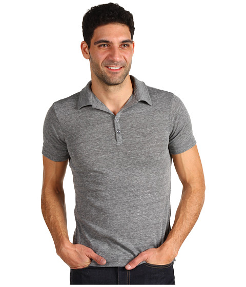 Alternative - Berke Urban Polo (Eco Grey) Men's Short Sleeve Pullover