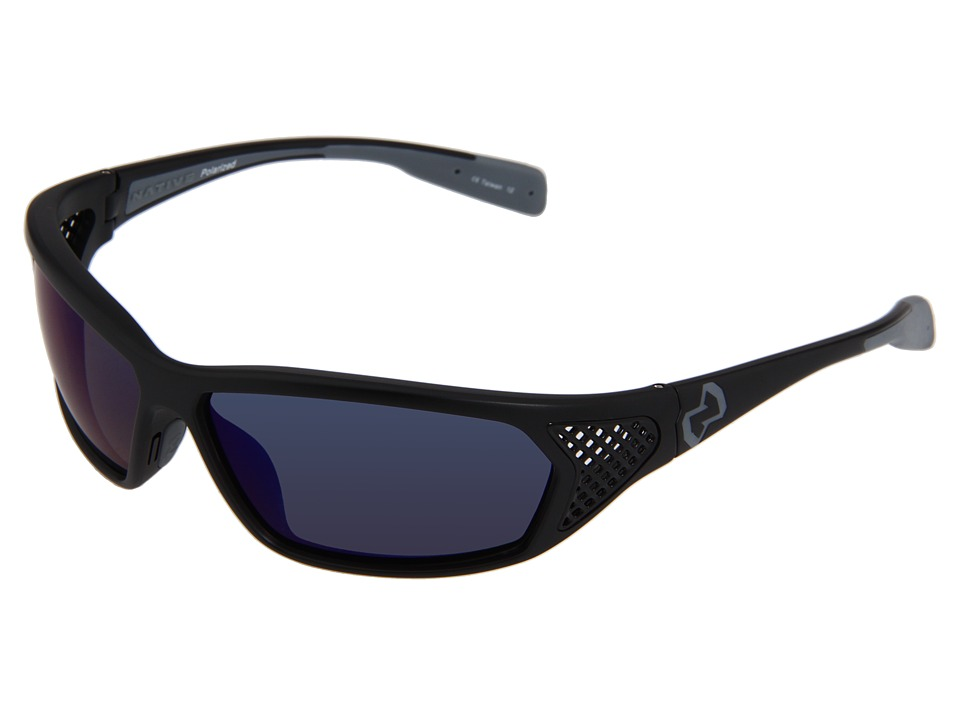 Native Eyewear - Andes Polarized (Asphalt/Iron) Sport Sunglasses