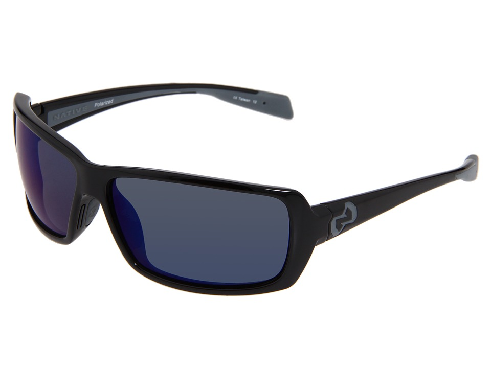 Native Eyewear - Trango Polarized (Iron) Sport Sunglasses