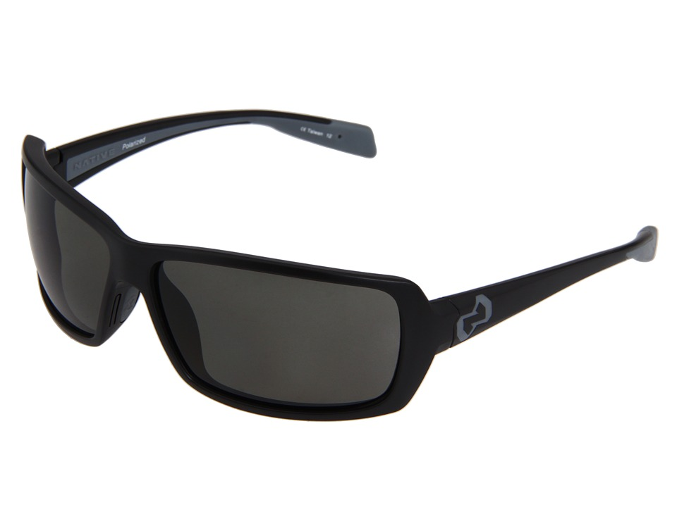Native Eyewear - Trango (Asphalt) Sport Sunglasses