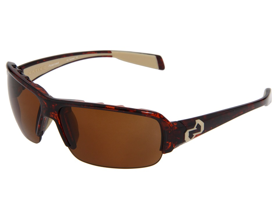 Native Eyewear - Itso (Maple Tort) Sport Sunglasses