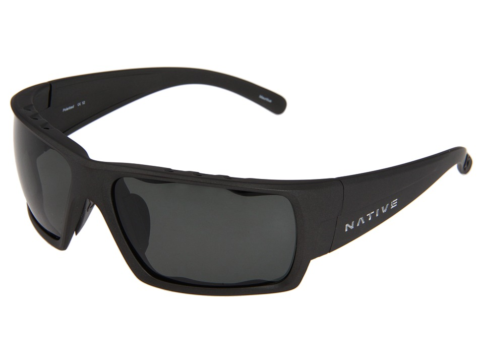 Native Eyewear - Gonzo (Charcoal) Sport Sunglasses