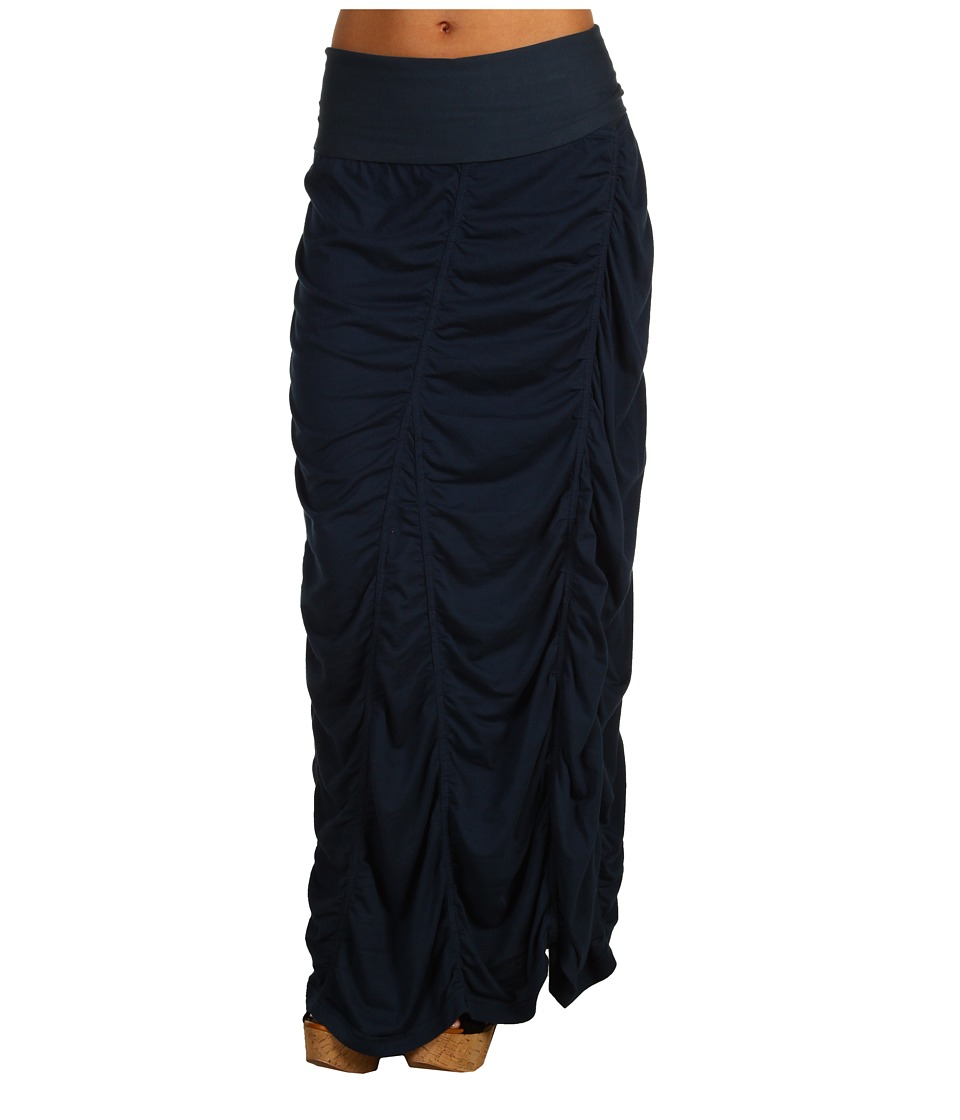 XCVI - Jersey Peasant Skirt (Midnight) Women's Skirt