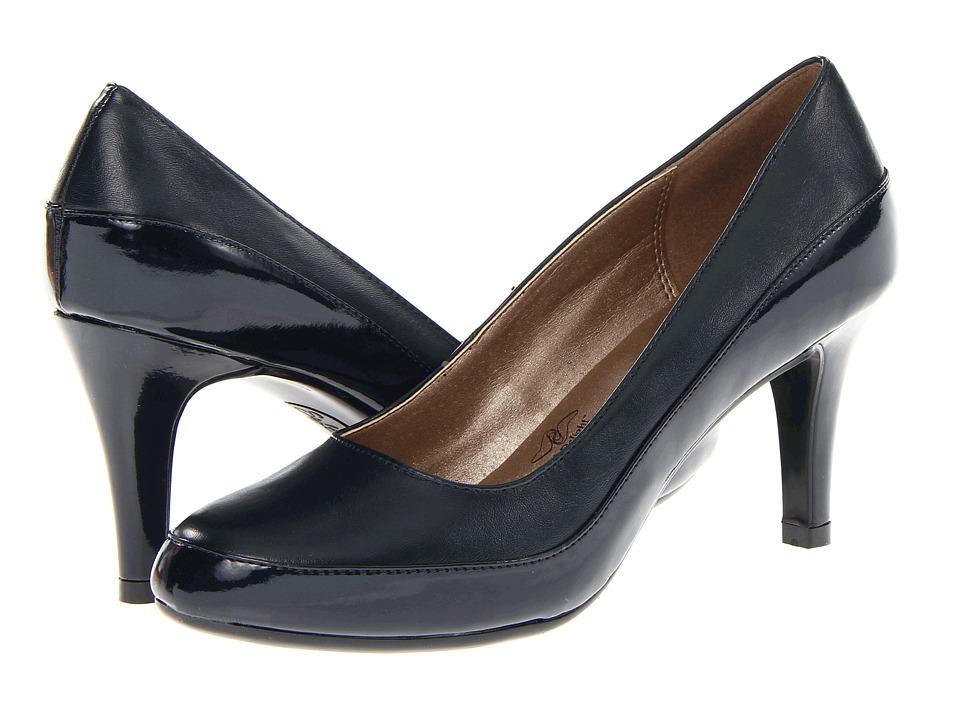 Soft Style - Cristina (Navy Vitello/Patent) High Heels