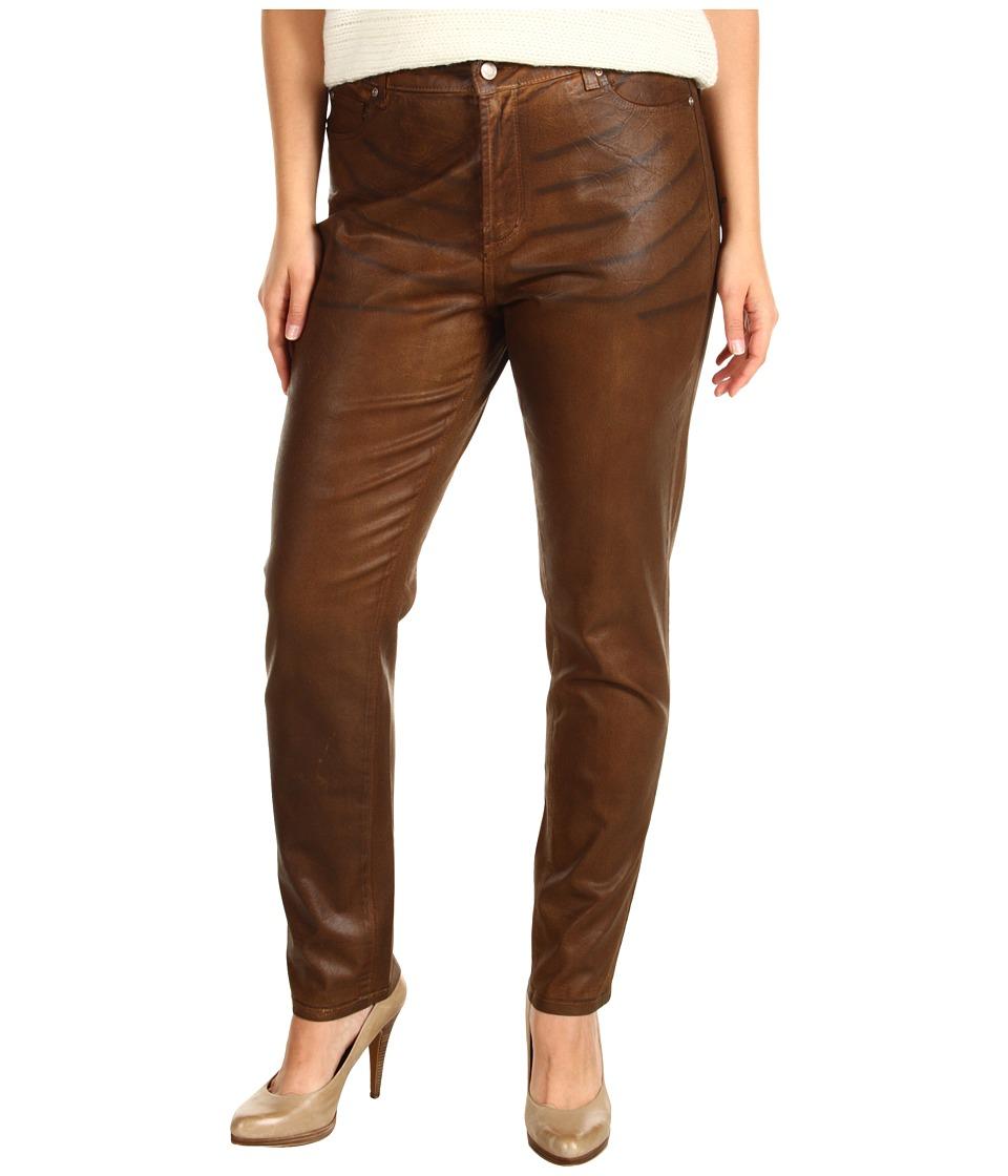 NYDJ Plus Size - Plus Size Sheri Skinny in Terra Tan (Terra Tan) Women's Jeans