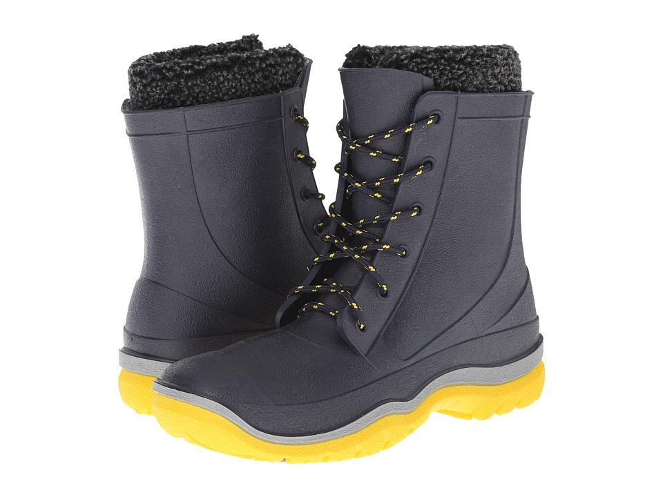 Tundra Boots Splashers (Navy/Yellow) Women