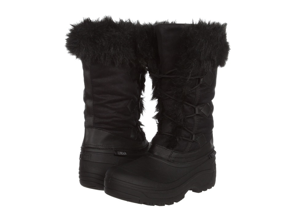 Tundra Boots - Vancover (Black) Women's Lace-up Boots