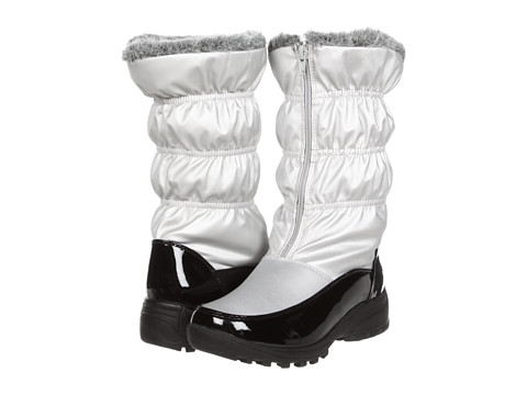 Tundra Boots - Rebecca (Silver) Women's Zip Boots