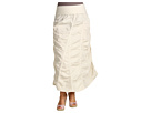 XCVI Plus Size - Plus Size Peasant Skirt (Chalk) - Apparel