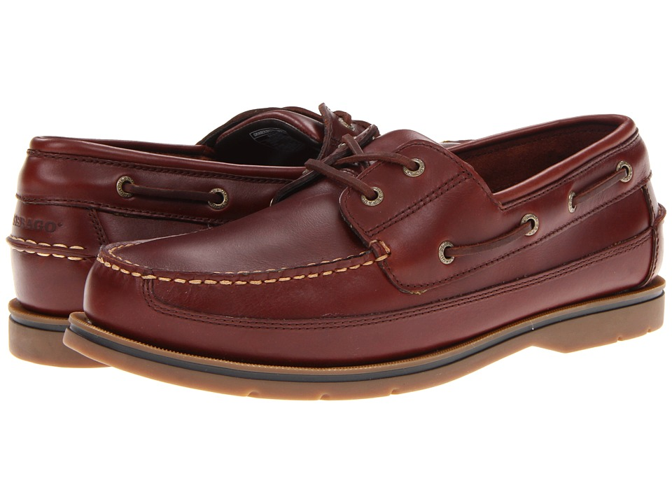 Sebago - Grinder (Brown Smooth) Men's Shoes