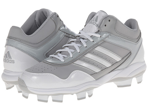 adidas - Excelsior Pro TPU Mid (Light Onix/Running White/Metallic Silver) Men