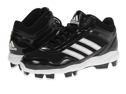 adidas - Excelsior Pro TPU Mid (Black/Running White/Metallic Silver) Men