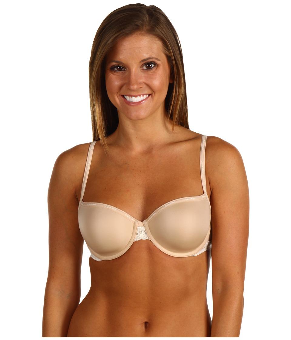 Calvin Klein Underwear - Perfectly Fit Sexy Signature Balconnet Bra F3305 (Skin) Women's Bra