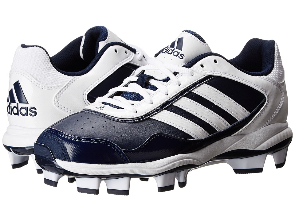 Image of adidas Running - Abbott Pro TPU 2 (Collegiate Navy/Running White) Women's Cleated Shoes