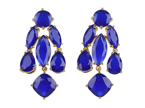 Kate Spade New York - Kate Spade Statement Earrings (Royal) Earring