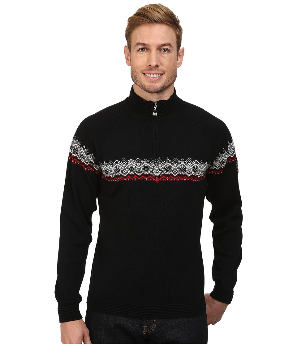 Dale of Norway - Calgary Masculine (Black/Raspberry/Off White) Men's Sweater