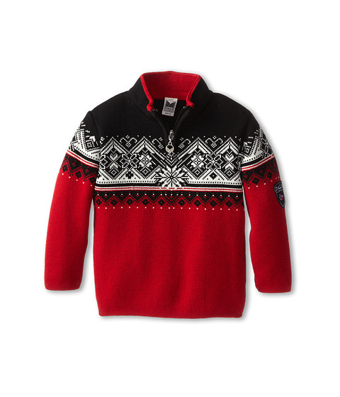 Dale of Norway - St. Moritz (Toddler/Little Kids/Big Kids) (Torrero/Off White/Black) Sweater