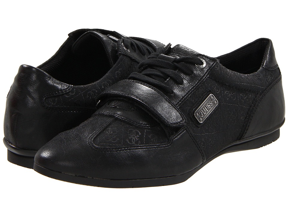 GUESS - Actine 2 (Black) Men's Lace Up Wing Tip Shoes