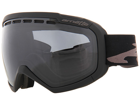 Arnette - Skylight (Muted Black w/Dark Grey) Snow Goggles