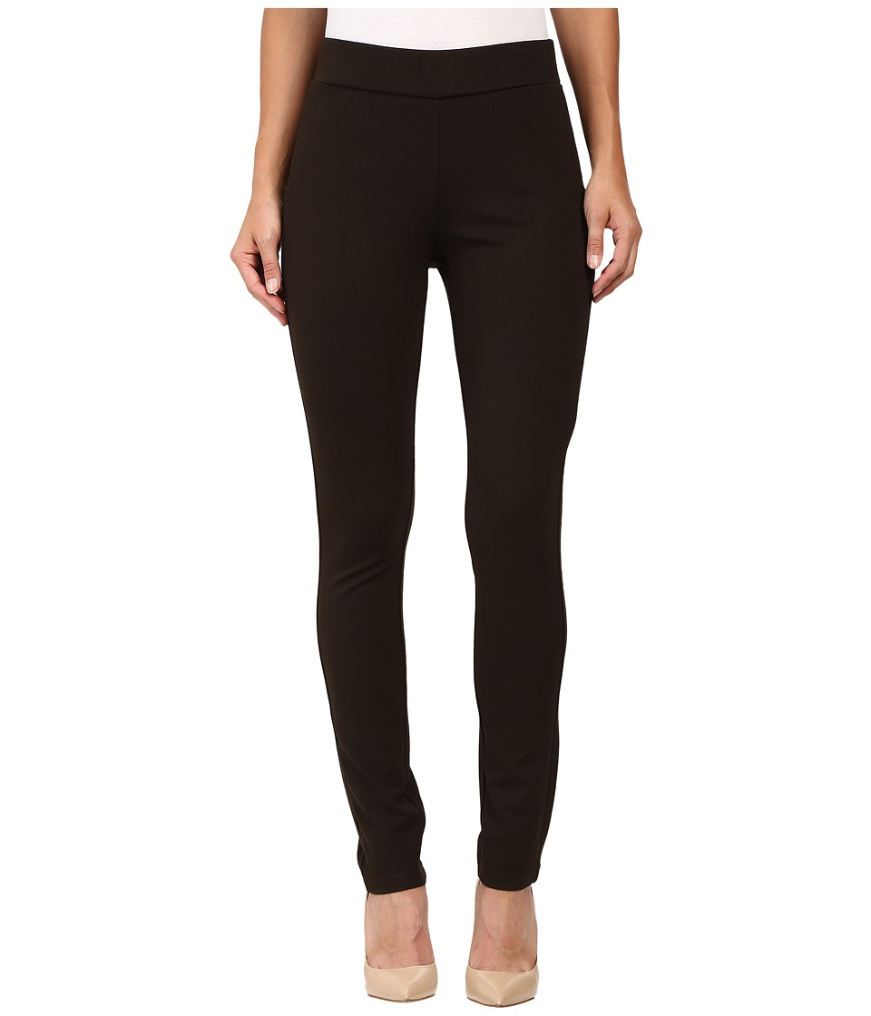 NYDJ - Jodie Pull-On Ponte Knit Legging (Ganache (Brown)) Women's Casual Pants
