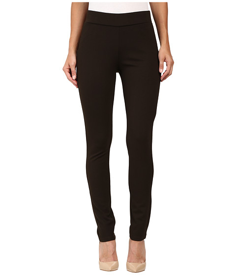 NYDJ - Jodie Pull-On Ponte Knit Legging (Ganache (Brown)) Women