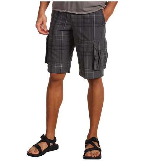 Columbia - Dusk Edge Novelty Cargo Short (Grill) Men's Shorts