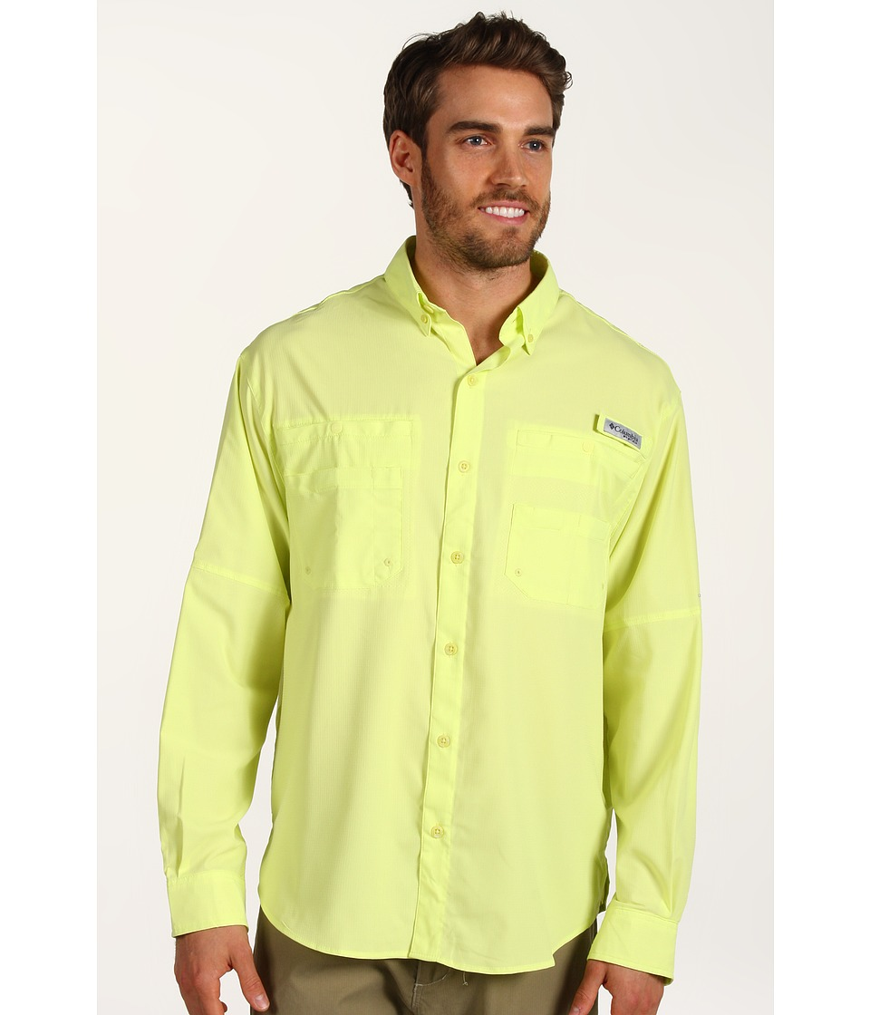 Columbia - Tamiamitm II L/S (Neon Light) Men's Long Sleeve Button Up