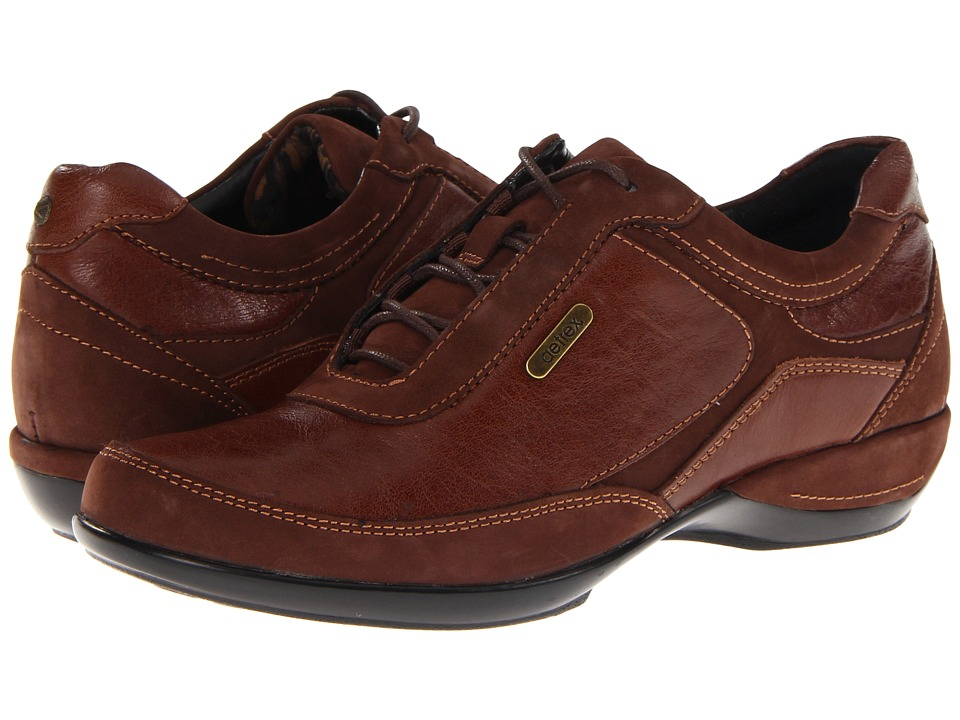 Aetrex - Holly (Brown) Women's Lace up casual Shoes