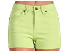Volcom - What The Twill Short (Acid Lime) - Apparel