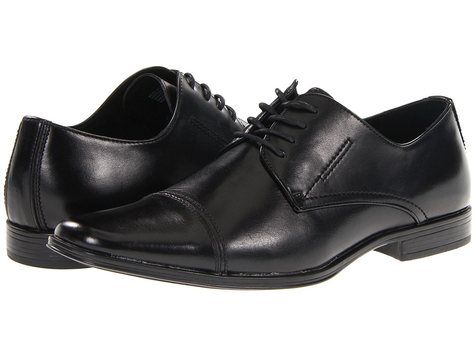 Stacy Adams - Montgomery (Black) Men's Lace Up Cap Toe Shoes