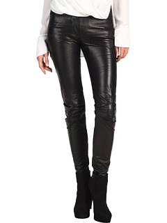 SALE! $279.99 - Save $518 on Edun Perforated Leather Skinny Pant (Black) Apparel - 64.91% OFF $798.00