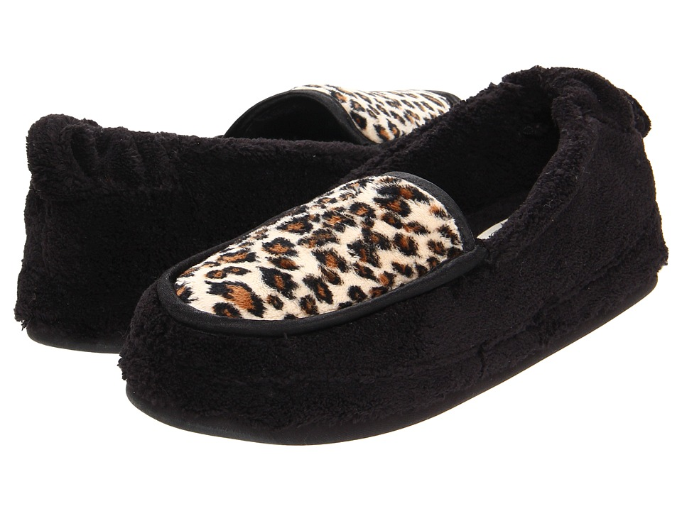 Daniel Green - Alexa (Black/Cheetah) Women's Slippers