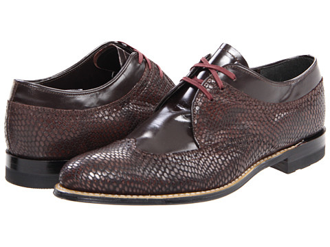 Stacy Adams - Dayton (Brown) Men's Lace Up Wing Tip Shoes