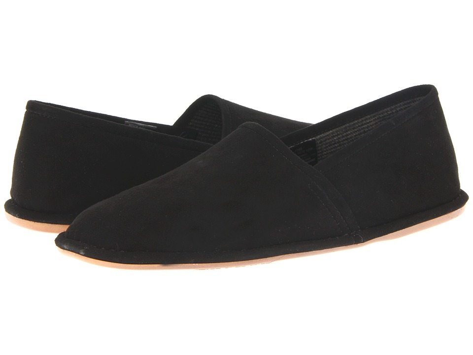 L.B. Evans - Lars (Black Suede) Men's Slippers
