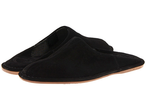 L.B. Evans - Pierce (Black Suede) Men's Slippers