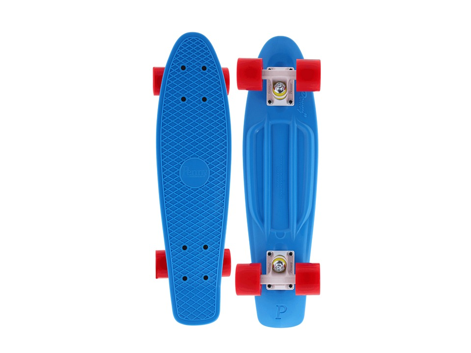 Penny - The Penny Classic (Cyan/White/Red) Skateboards Sports Equipment