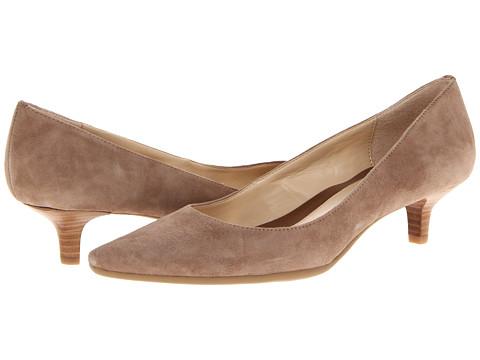 Calvin Klein - Diema (Mink Suede) Women's 1-2 inch heel Shoes