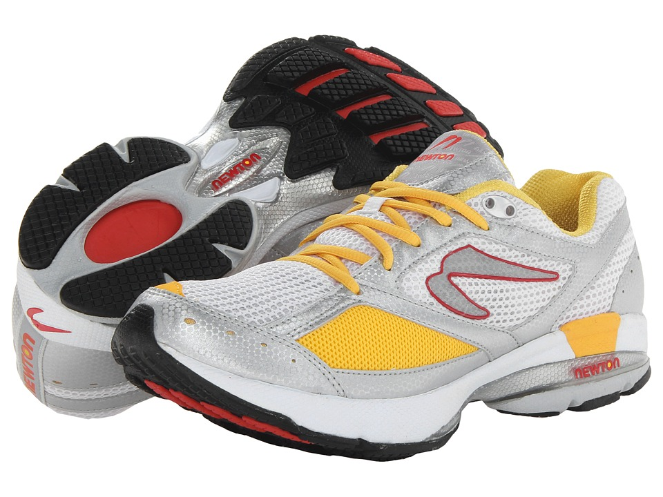 Newton Running - Isaac (White/Harvest) Men's Running Shoes