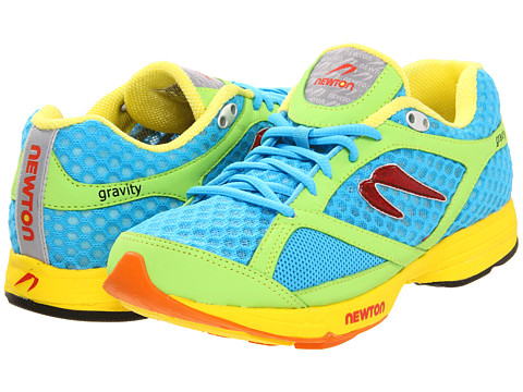 Newton Running - Gravity (Blue/Lime) Women's Running Shoes