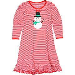 SALE! $11.99 - Save $31 on Sara`s Prints Kids Puffed Sleeve Nightgown (Toddler Little Kids Big Kids) (Red and White Mini Stripe) Apparel - 72.12% OFF $43.00