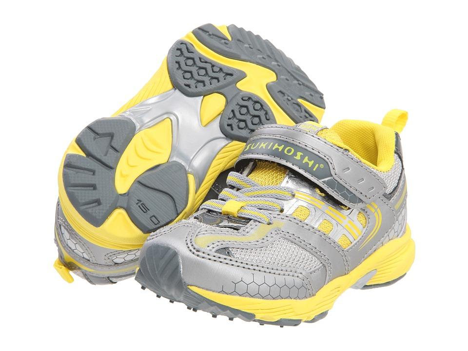 Tsukihoshi Kids Flash Boys Shoes (Silver)
