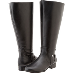 Fitzwell Temecula Extra Wide Calf Boot (Black) Footwear