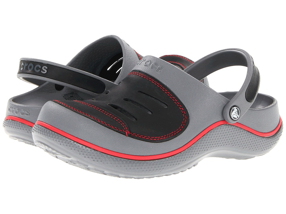 Crocs Kids - Yukon (Toddler/Little Kid) (Charcoal/Black) Boys Shoes