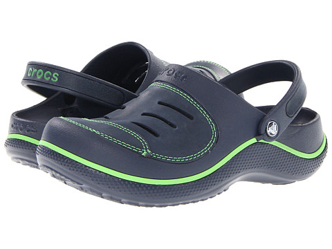 Crocs Kids - Yukon (Toddler/Little Kid) (Navy/Navy) Boys Shoes