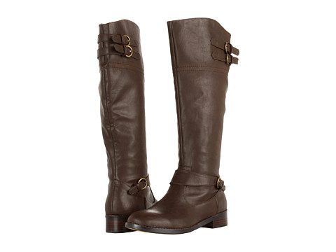 VOLATILE - Wicker (Brown) Women's Dress Zip Boots
