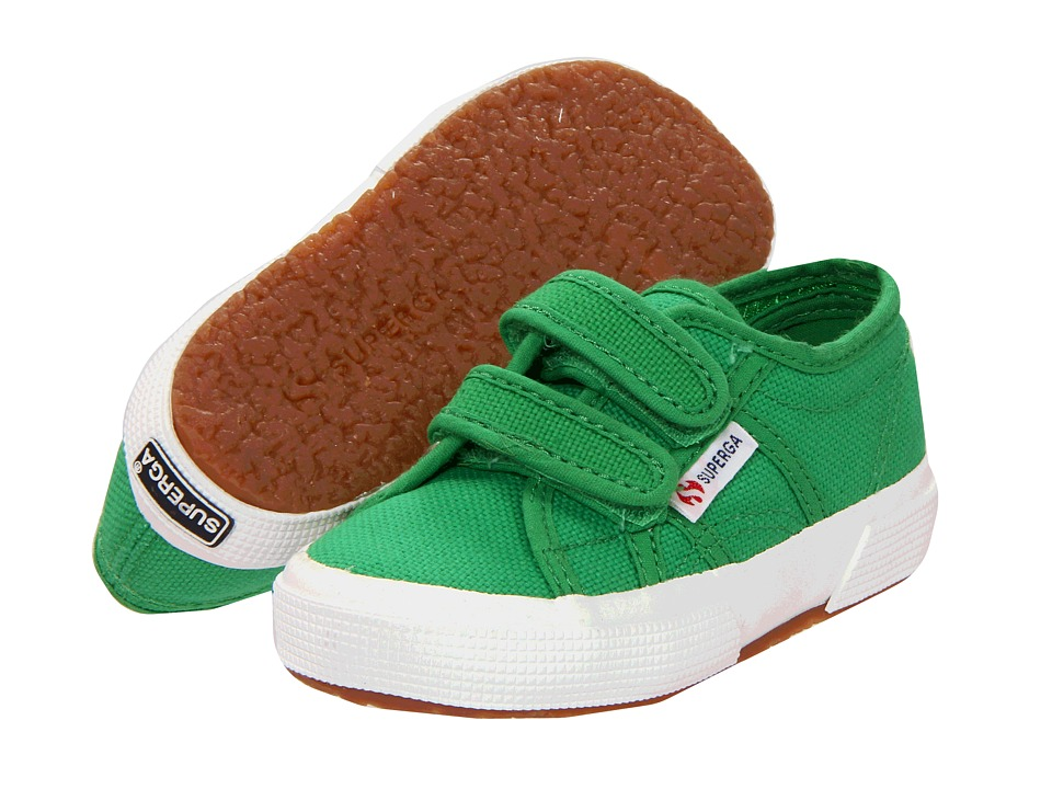 Superga Kids - 2750 JVEL Classic (Toddler/Little Kid) (Island Green) Kids Shoes